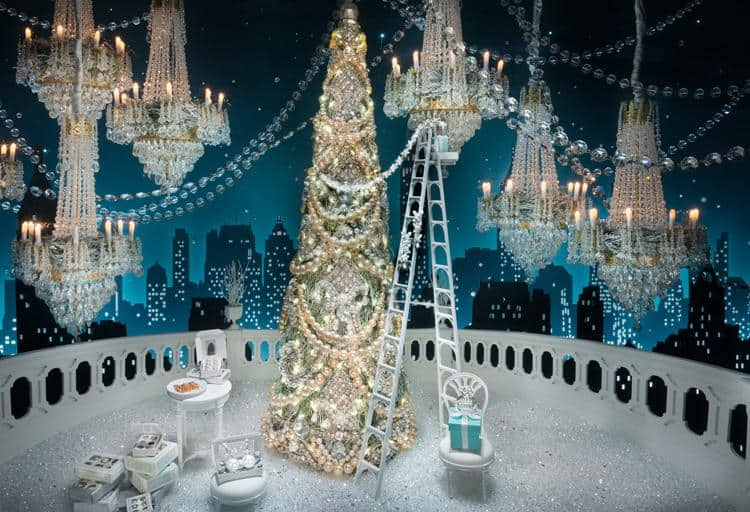 Make your Christmas sparkle with gems from Tiffany & Co's holiday collection