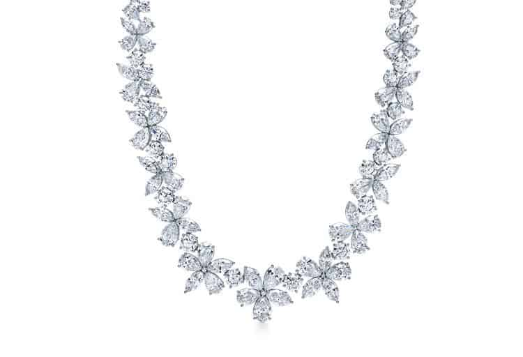 Tiffany Victoria® Mixed Cluster Necklace, $135,500