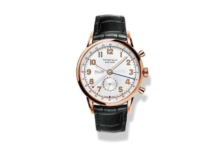 Men's Tiffany CT60™ Dual Time 40 mm Watch, $20,100