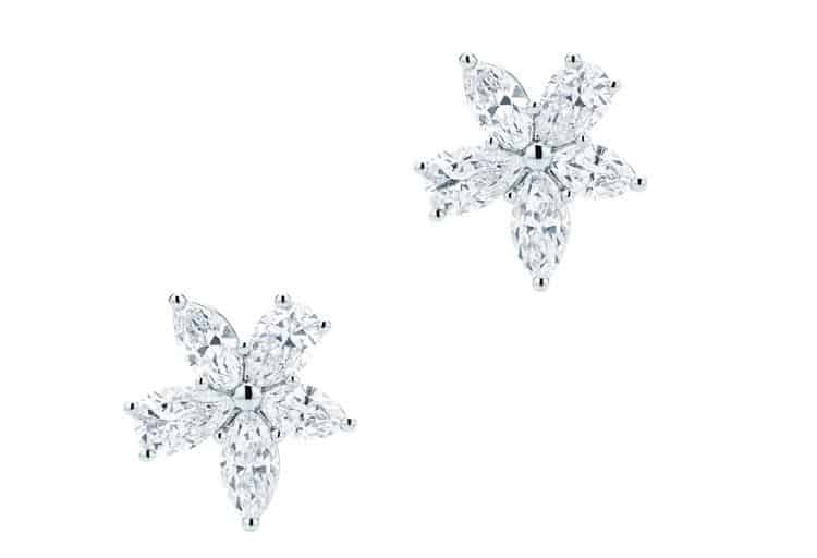 Tiffany Victoria® Mixed Cluster Diamond Earrings,  $21,700