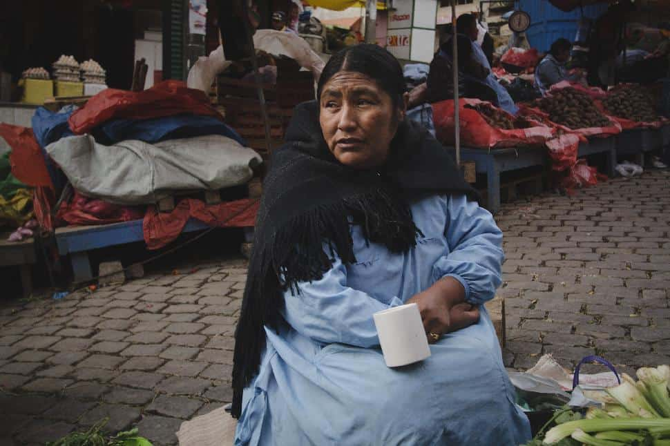 woman bolivia cholita