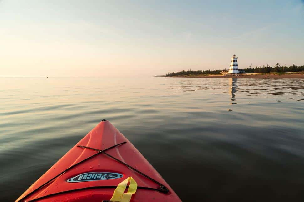 kayaking pei