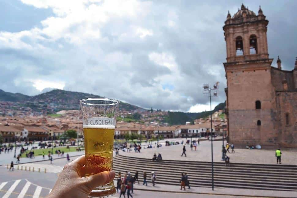 Cusco Beer Cheers Libation Center Town Plaza