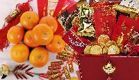 Chinese New Year gift basket