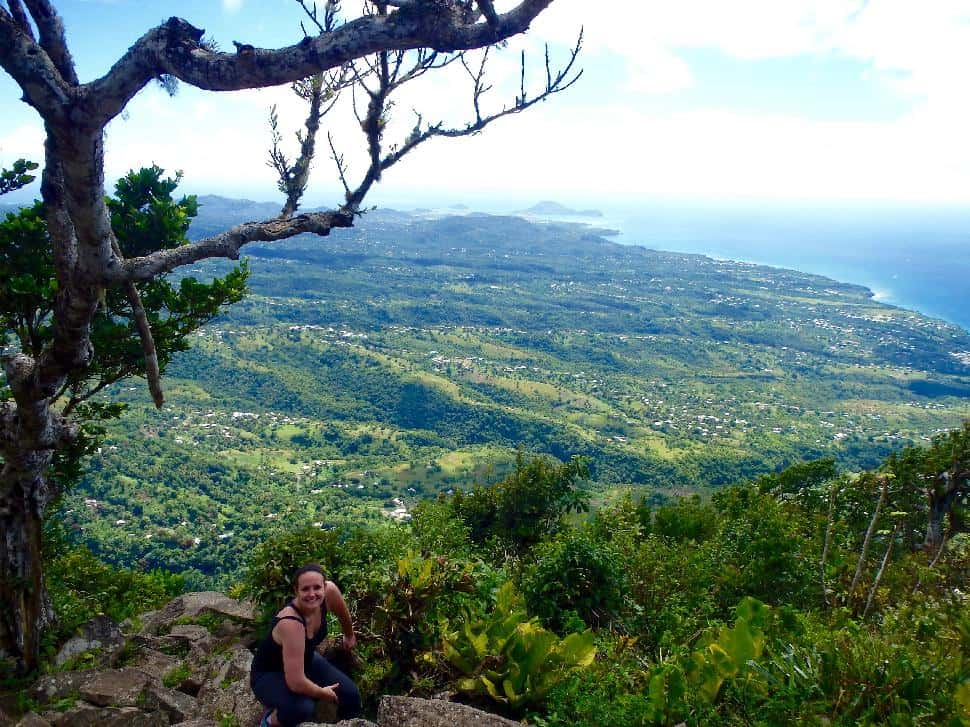 St Lucia Piton View