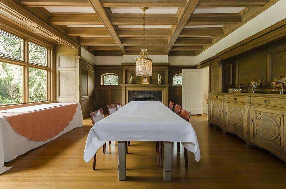 Shaughnessy Mansion dining room