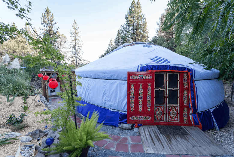 Mongolian Yurt in the Gold Country