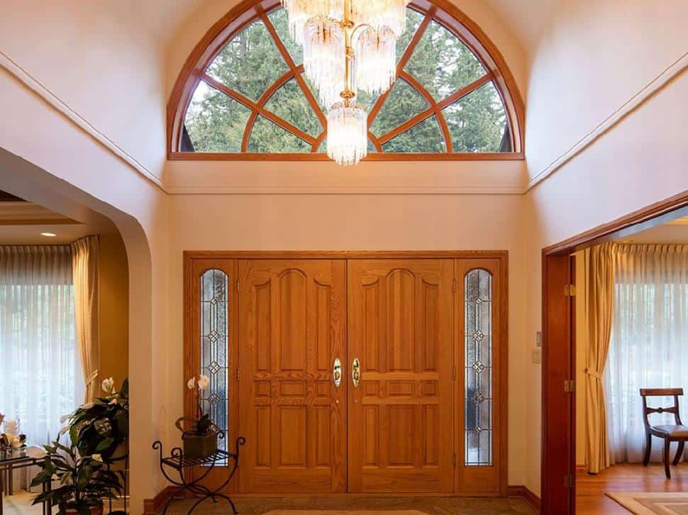 North Vancouver real estate front door