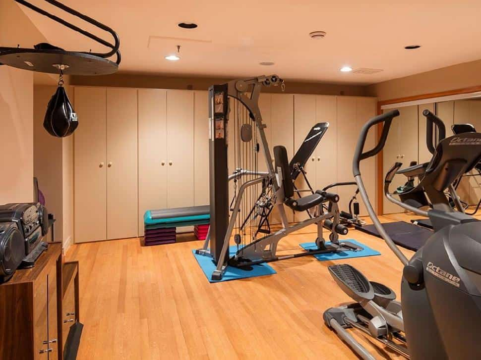 North Vancouver real estate home gym