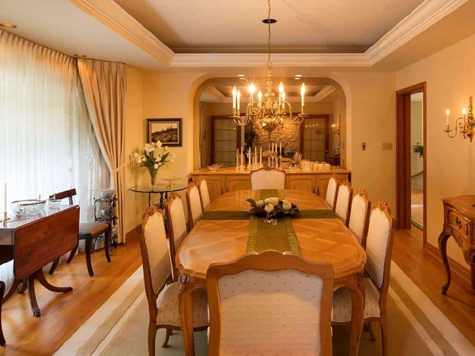 North Vancouver real estate dining room