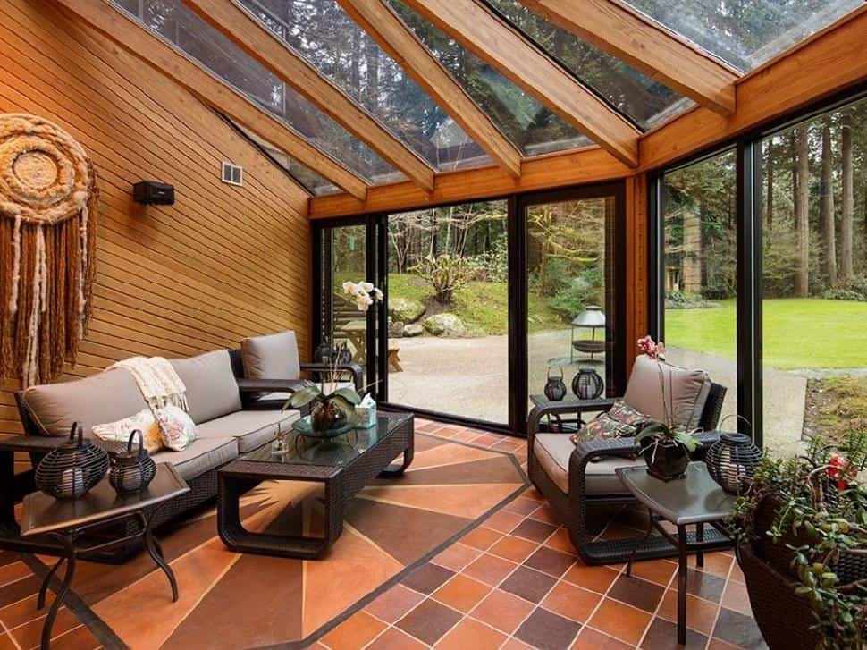 North Vancouver real estate sunroom