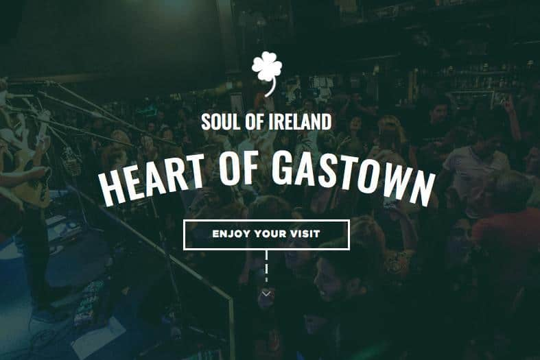 Heart of Gastown Blarney Stone