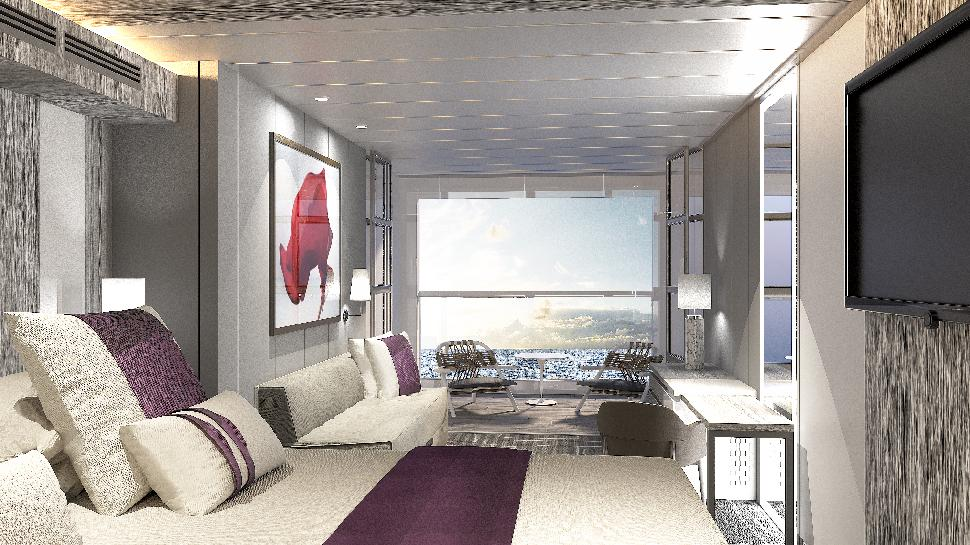 Stateroom size