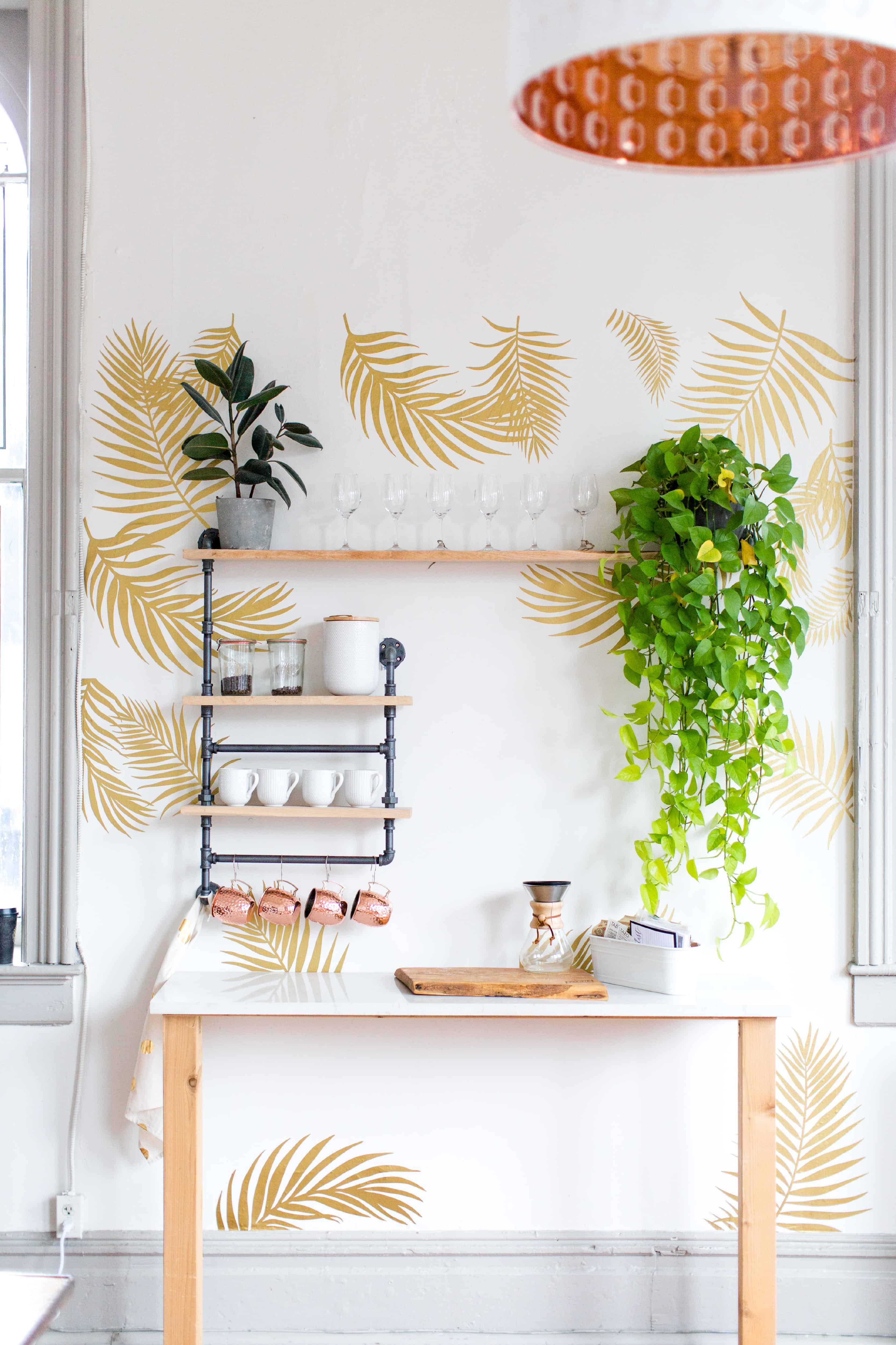 palm wall decals