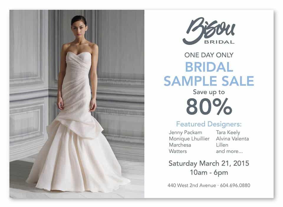 Bisou Bridal Sample Sale