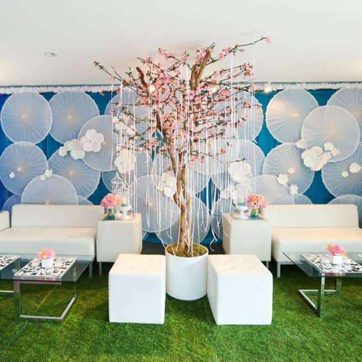 Cherry blossom tree by Harumi Signature Events and Debut Event Design