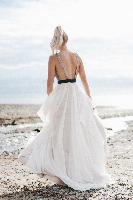 Sunshine Coast, Truvelle bare back gown