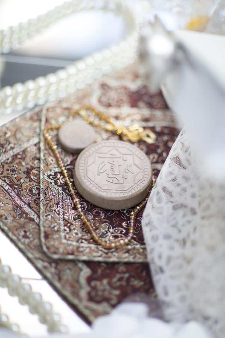 Persian wedding details