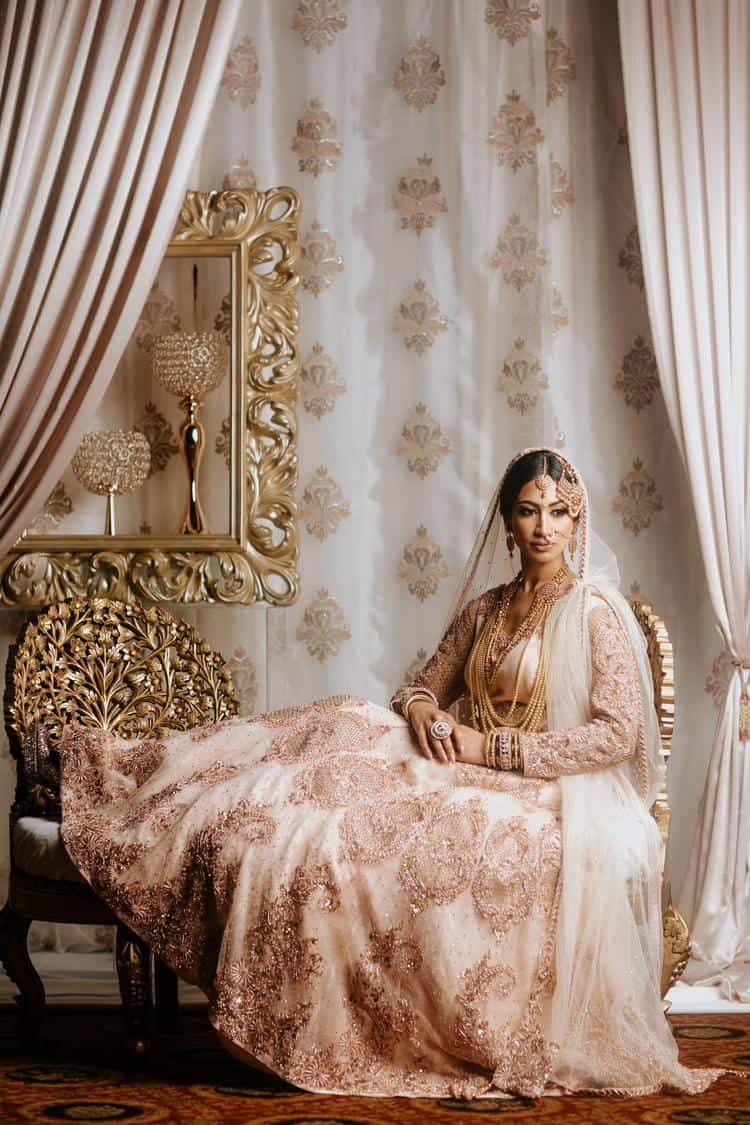 Beautiful ornate Indian wedding