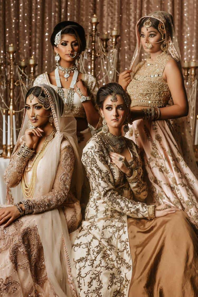 Royal Indian Wedding Decor And Gowns