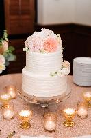 Tiers of Joy wedding cake