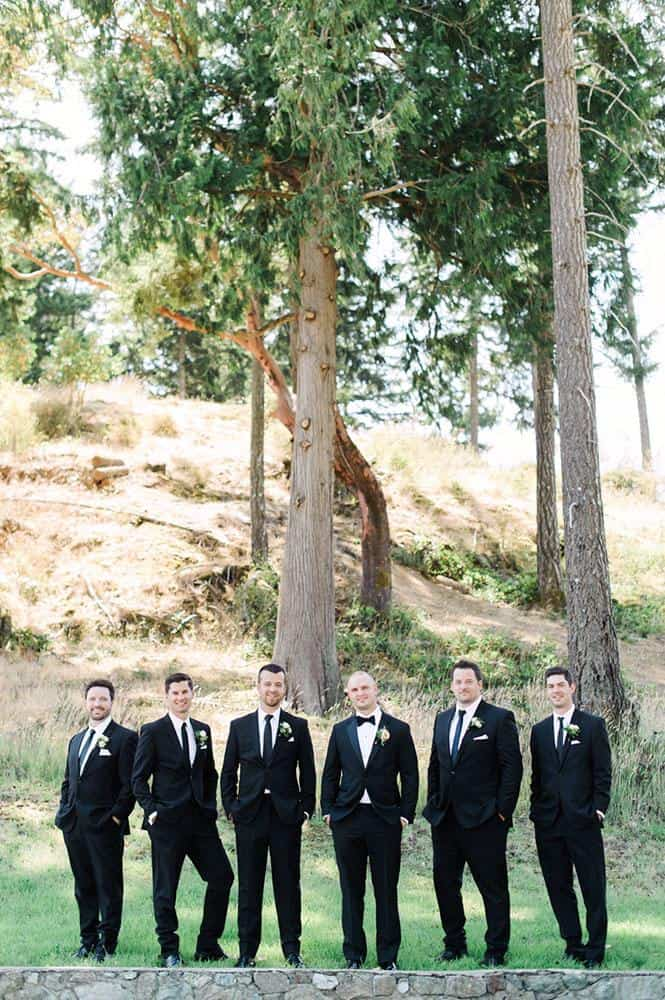 Groomsmen suits from Derks