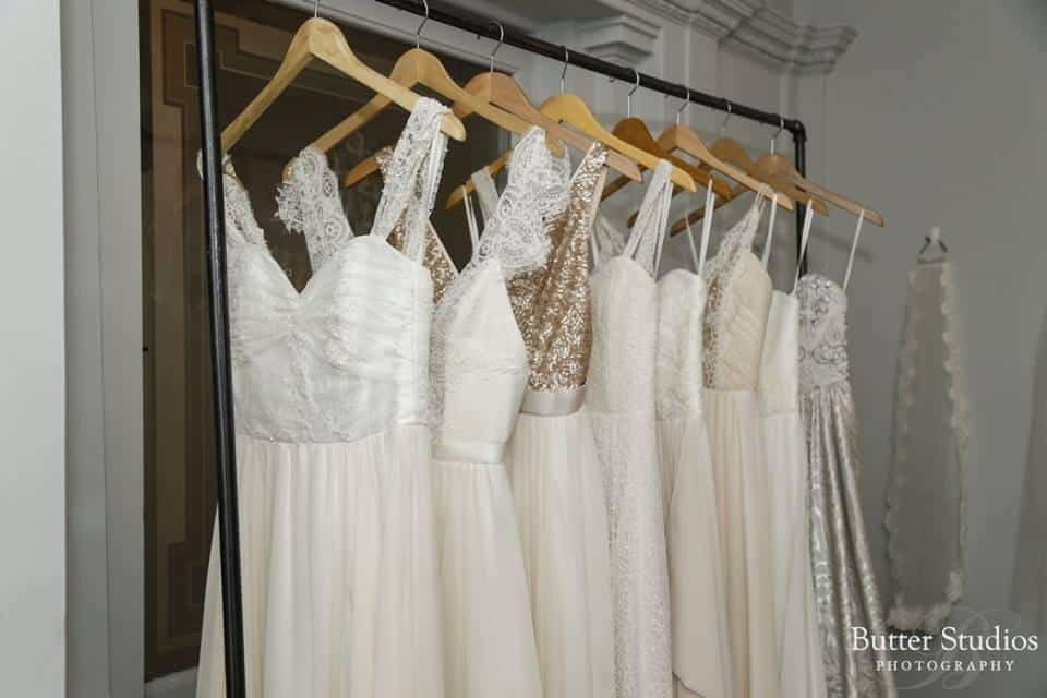 Gowns from Truvelle Bridal