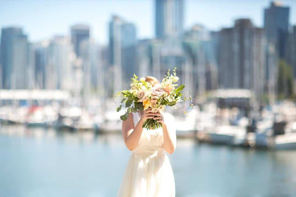 Vancouver wedding by Maru Photography