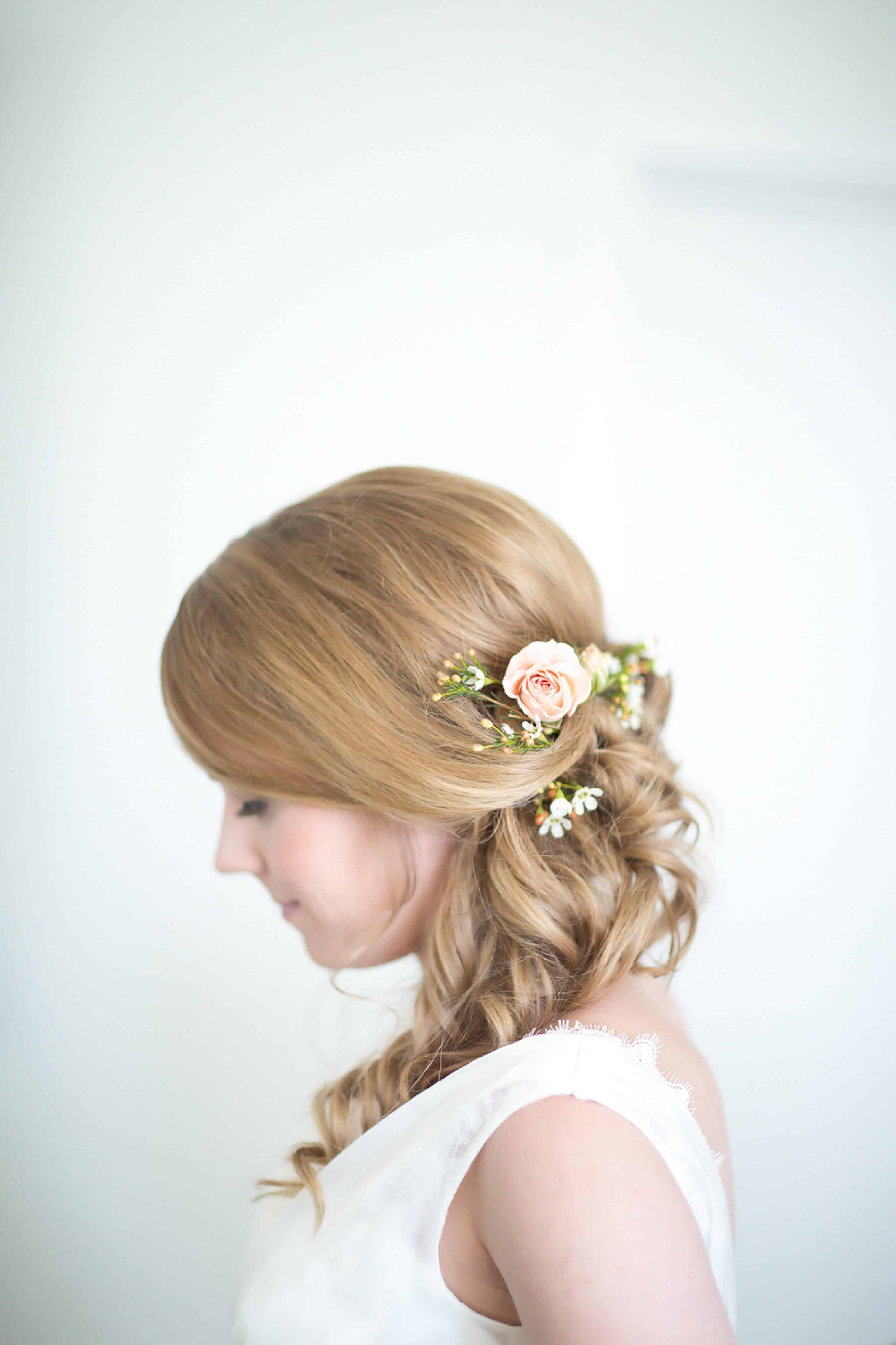 Red Carpet Ready by Christina with Celsia Florist, wedding hair