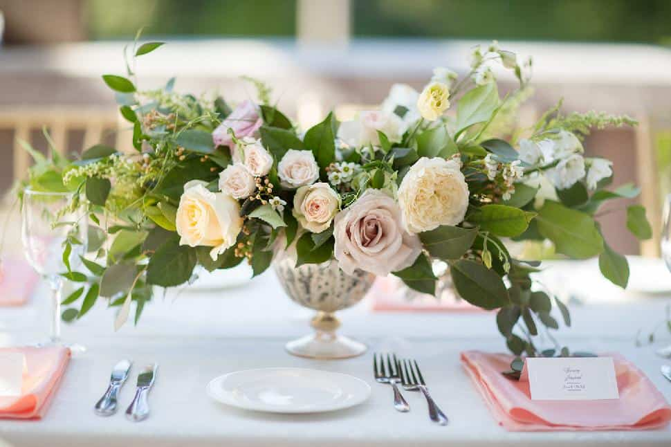 Loose European-style table flowers, Celsia Florist