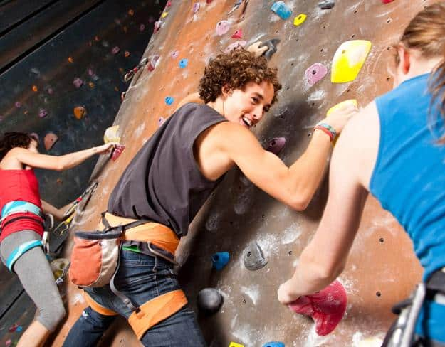 The heights addict: Climbing gym membership