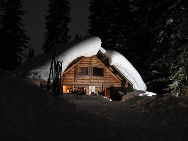 B.C. backcountry base camp