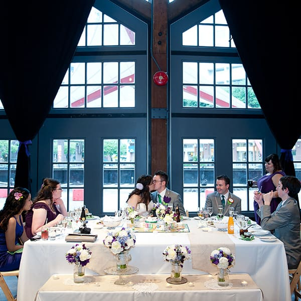 Mad Men Themed Wedding In Vancouver