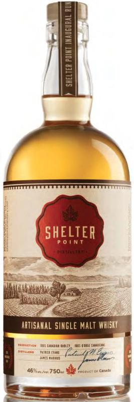 Shelter Point Whisky from Shelter Point Distillery