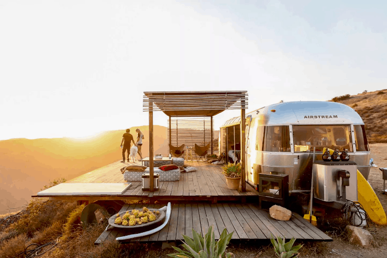 air stream airbnb california