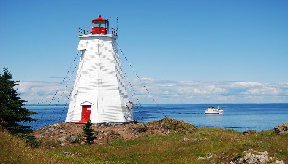 Swallowtail Light & Long Eddy Lighthouse Grand Manan Island