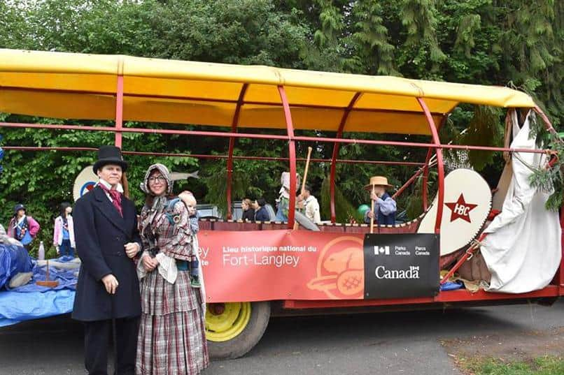 Fort Langley Parade