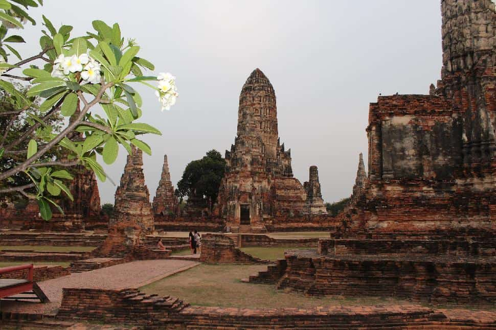 Historical Ruins at Ayutthaya
