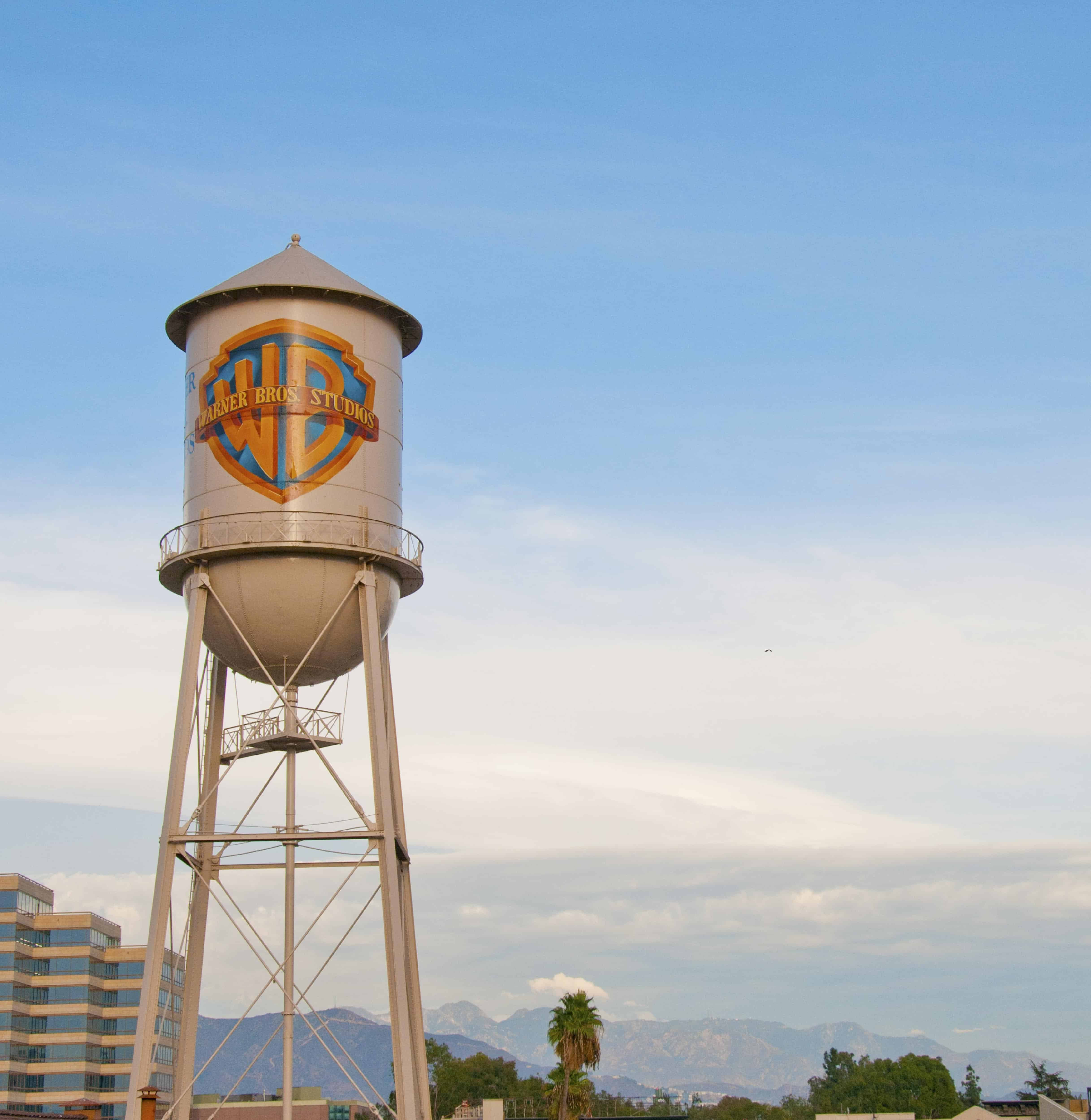 warner brother studios water tower