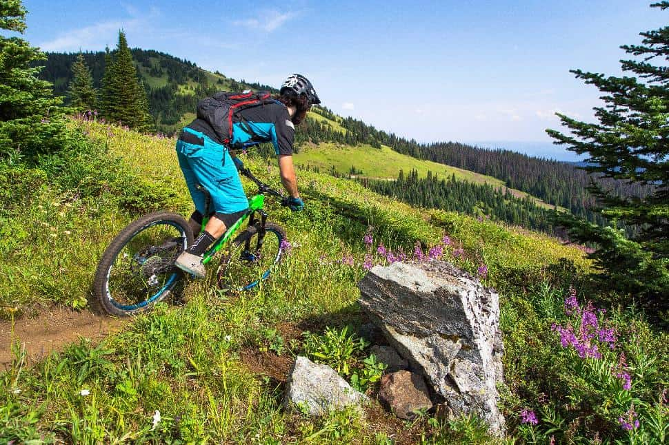 sun peaks mountain biking beginner friendly british columbia kamloops
