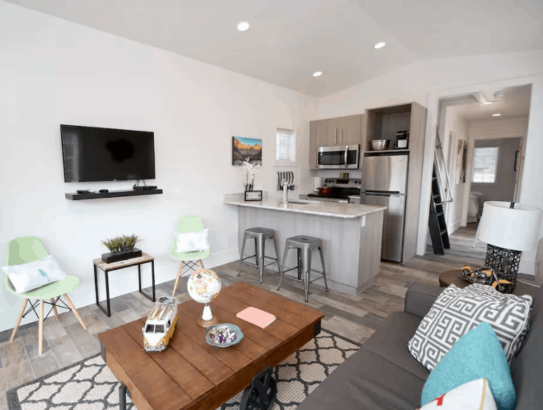 Orderville Utah Tiny Home Rental Airbnb