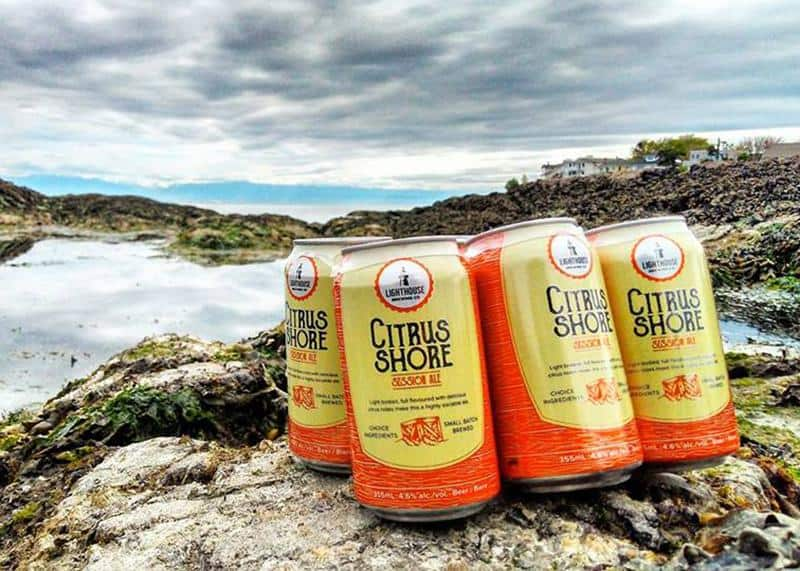 Citrus Shore Light Beer