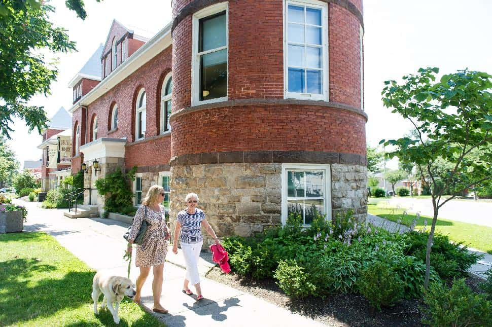 self guided walking tour goderich ontario