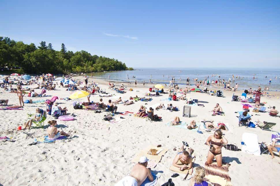 Best beach in Manitoba