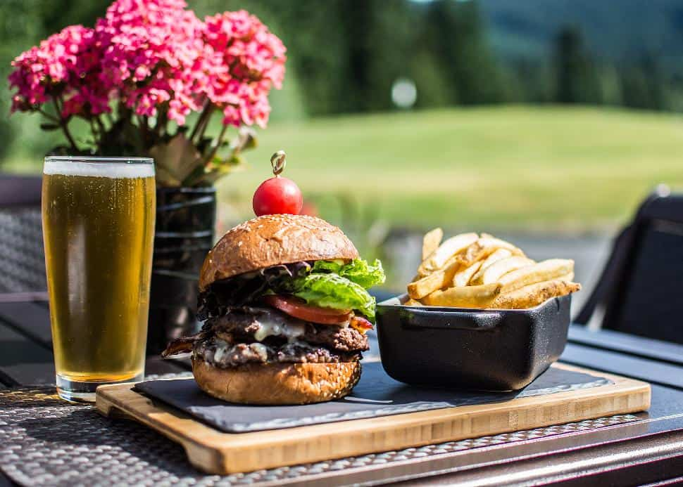 Chateau Whistler Mountain Burger