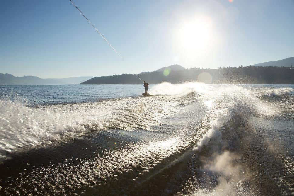 wake boarding in kelowna