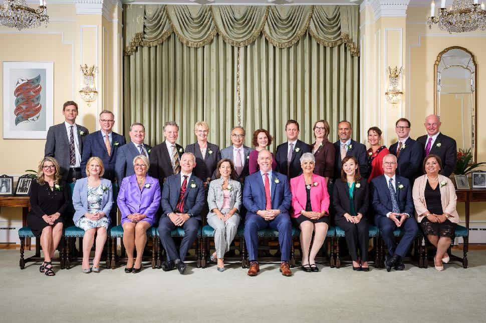 NDP cabinet
