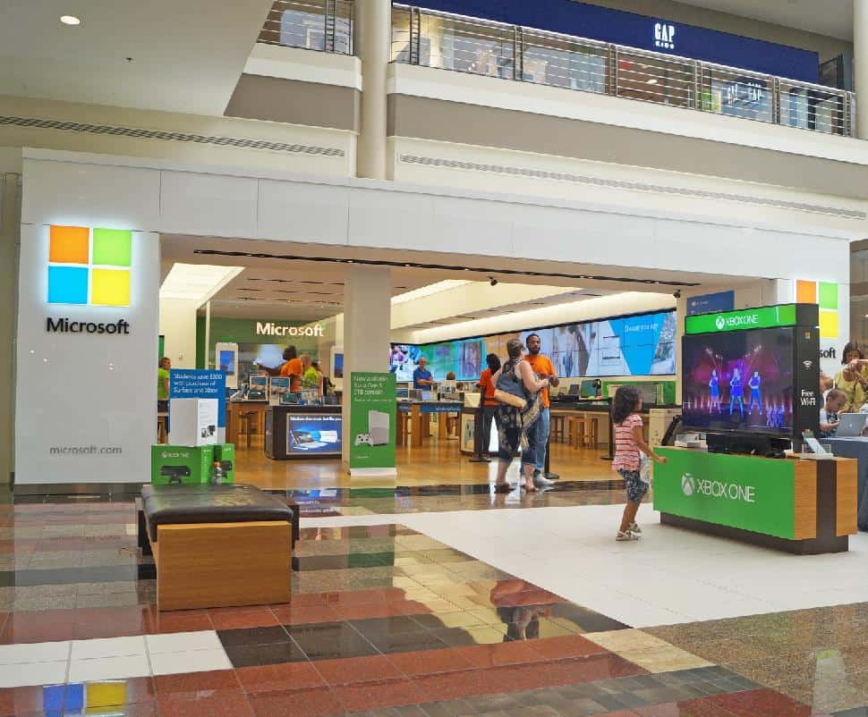 Walden Galleria Microsoft store buffalo new york