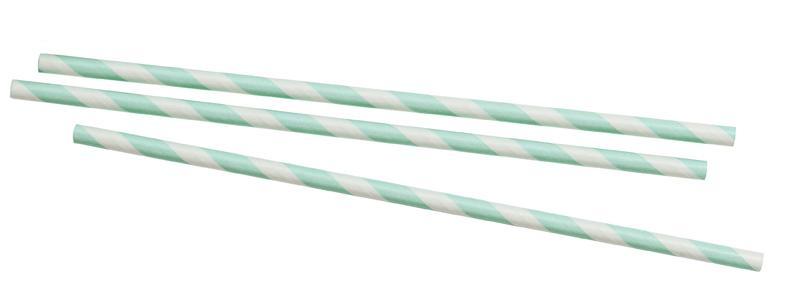cool mint paper straws