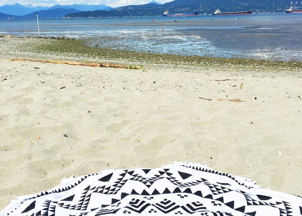 Simply Beautiful beach towel